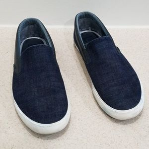 Ben Sherman men's pete slip on sneakers size14